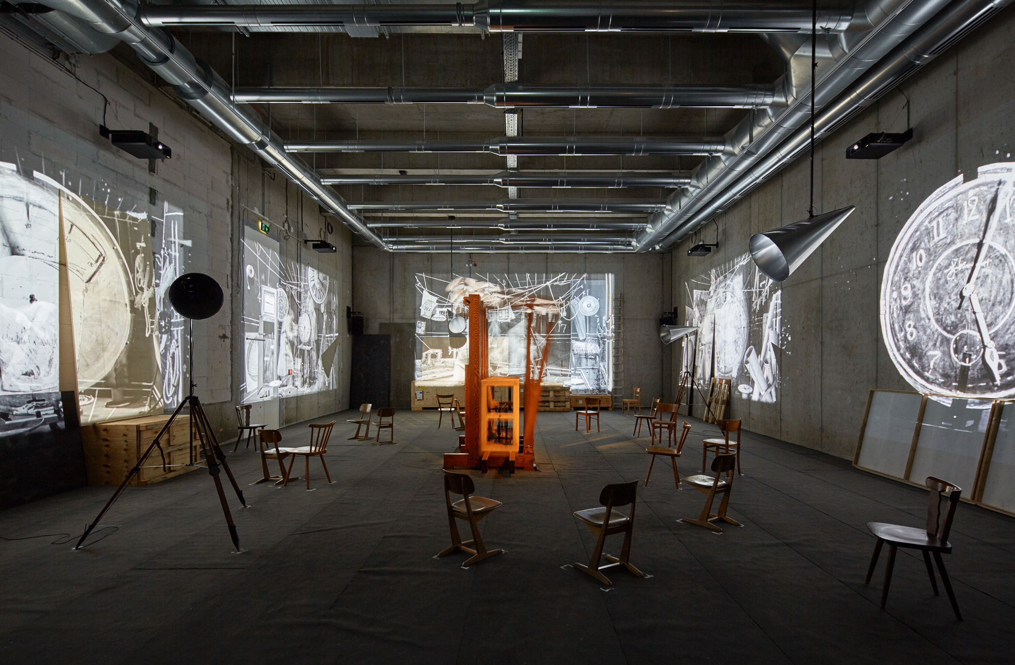 © William Kentridge Foto: Kunsthalle Mannheim / Rainer Diehl