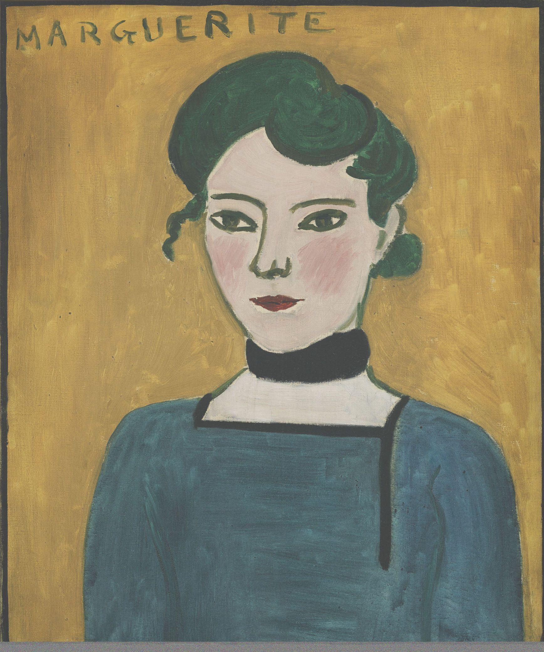 Henri Matisse, Marguerite, 1906 Öl auf Leinwand, 65 x 54 cm Paris, Musée Picasso © Succession H. Matisse/ VG Bild-Kunst, Bonn 2018 Foto: bpk | RMN - Grand Palais | René-Gabriel Ojéda