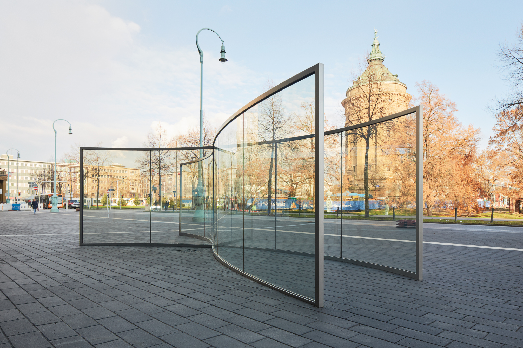 © Dan Graham Foto: Kunsthalle Mannheim / Rainer Diehl