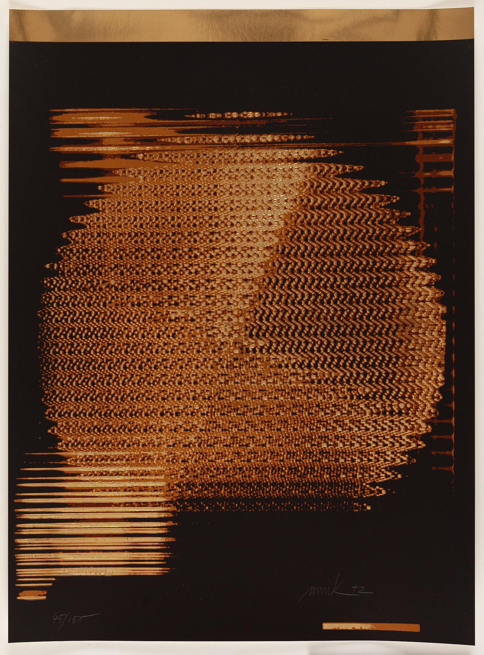 """Heinz Mack, Ohne Titel, Blatt aus der Mappe """"German Art Today '70"""", 1971, © VG Bildkunst Bonn, 2020"""