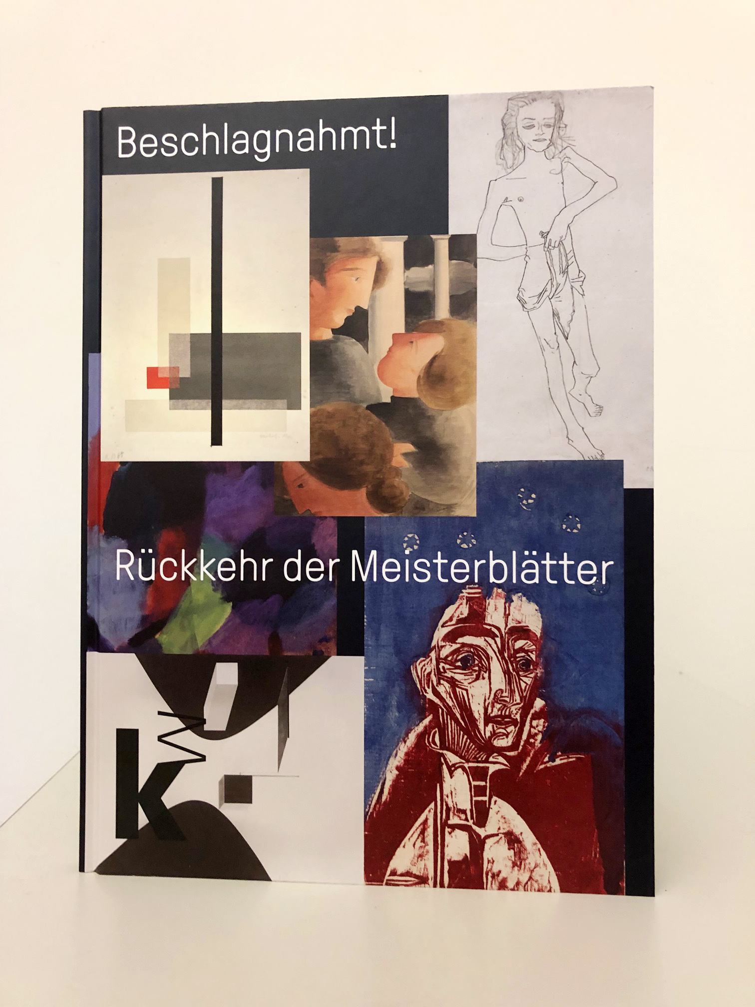"Ausstellungskatalog ""Beschlagnahmt! Rückkehr der Meisterblätter"""