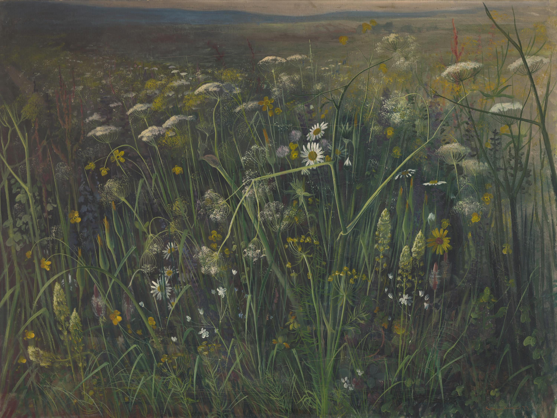 Eugen Knaus, Wiesenlandschaft, 1933