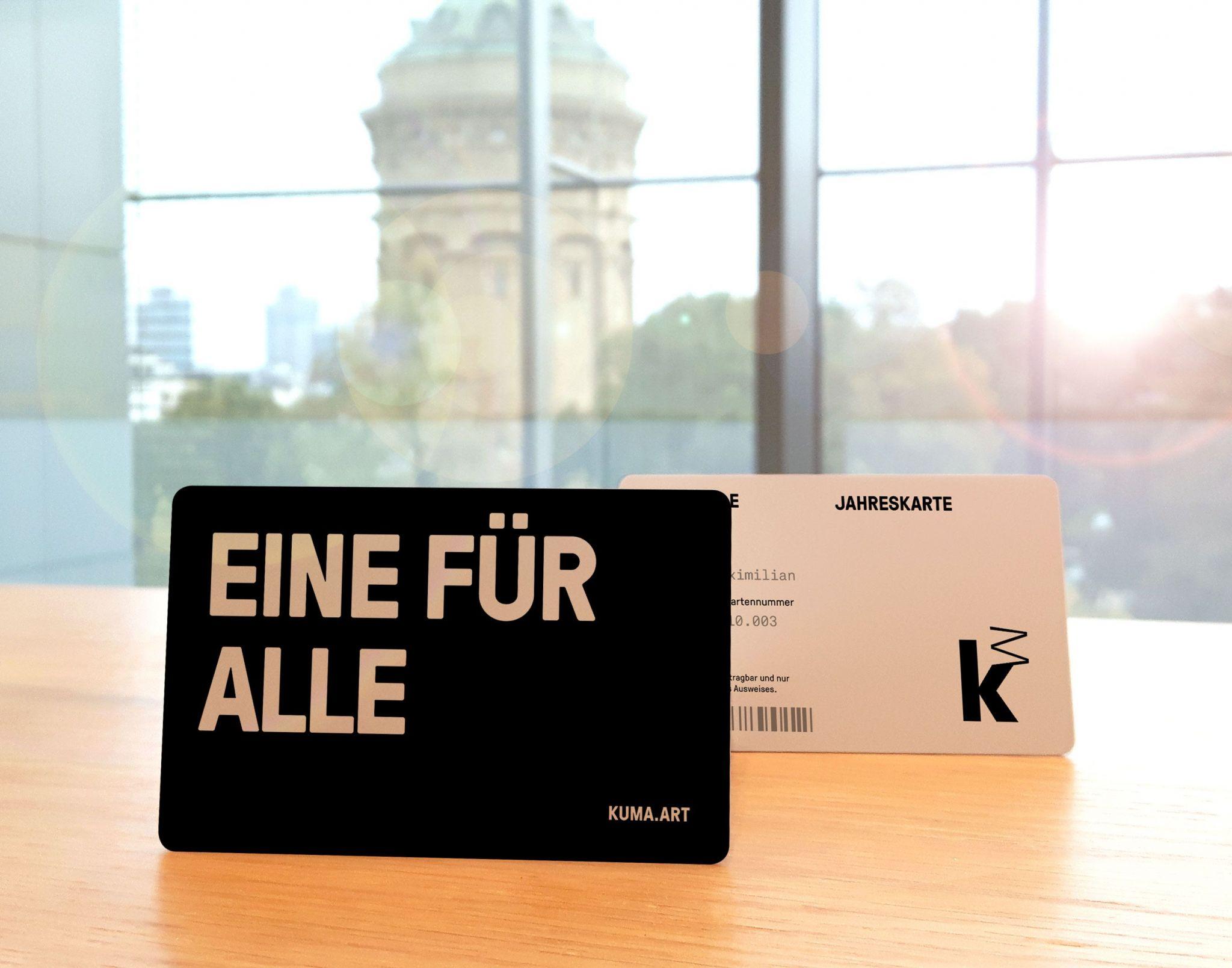 Online-Shop Kunsthalle Mannheim / Jahreskarte, Foto: Kunsthalle Mannheim