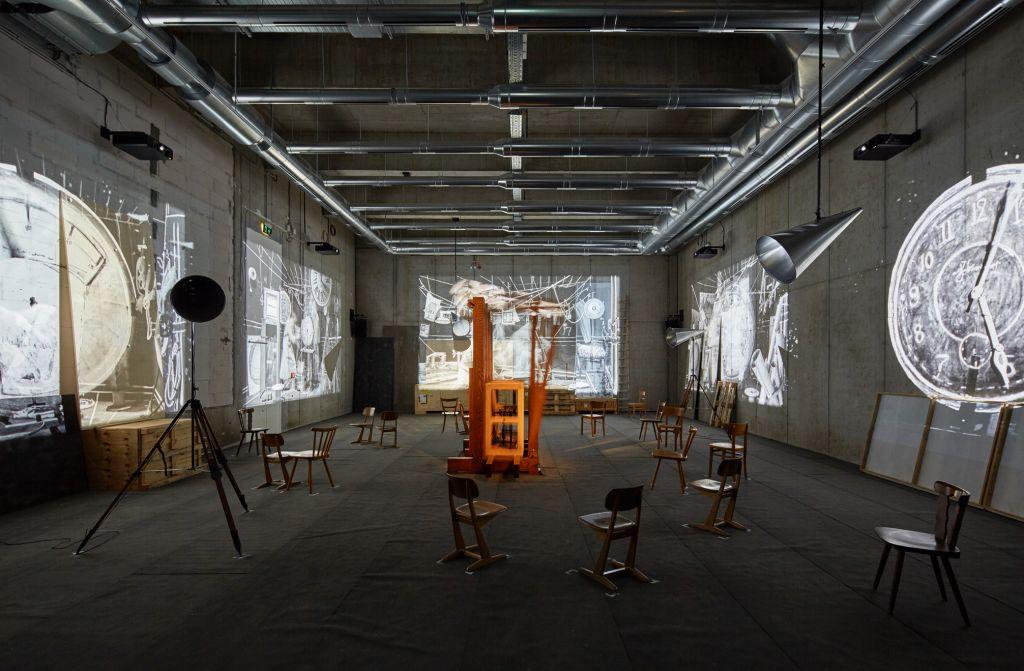 © William Kentridge Foto: Kunsthalle Mannheim / Rainer Diehl