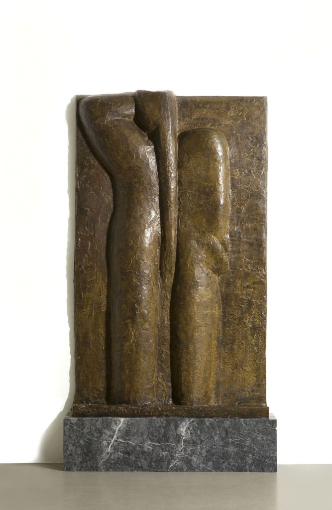 Henri Matisse, Female Nudes IV | Nu de dos IV, 1930 Bronze, 189 x 114 x 16 cm Kunsthalle Mannheim © Succession H. Matisse/ VG Bild-Kunst, Bonn 2018