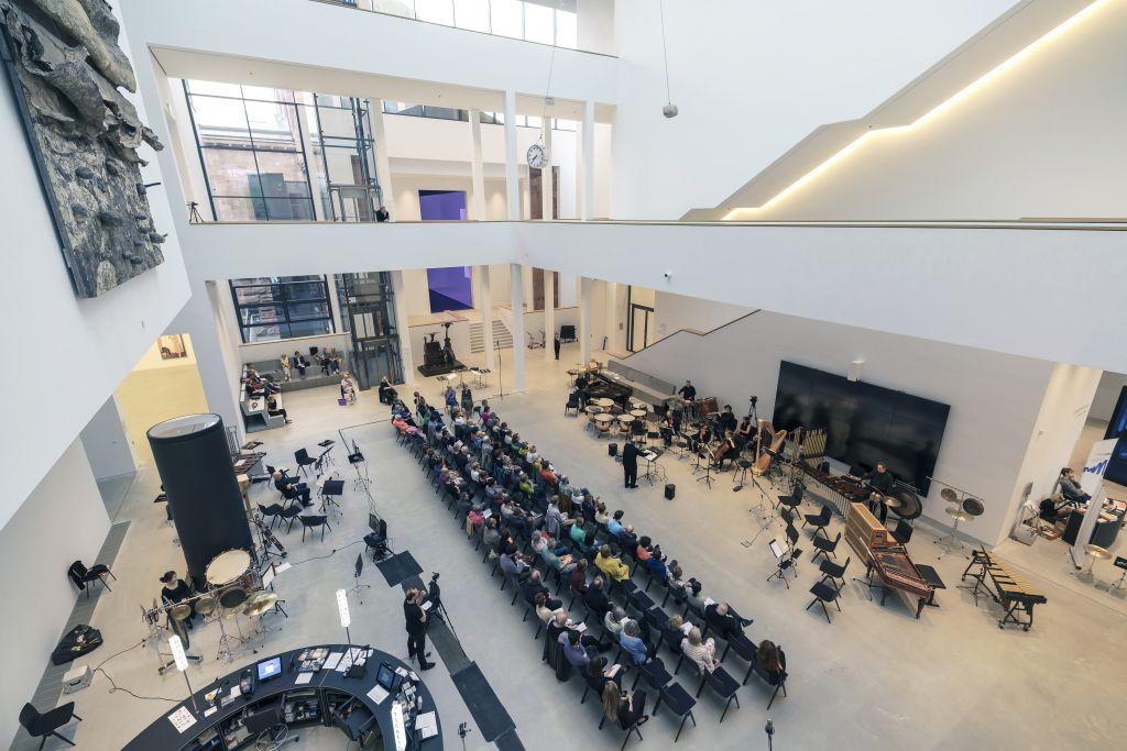Live im Atrium – Die Kunsthalle Mannheim wird zum Konzertsaal Credits: Foto: Kunsthalle Mannheim/ Dietrich Bechtel