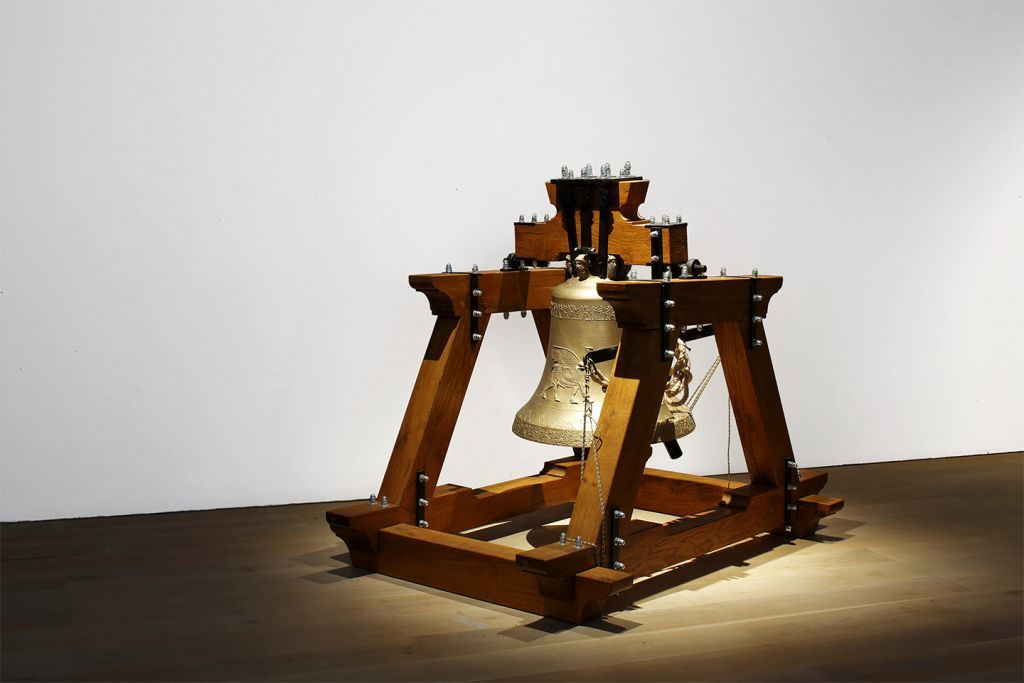 The Bell Project, 2014/15. With courtesy of the artist, KOW Berlin, Collezione La Gaia Busca, Private Collection Brussels, Prometeo-gallery di Ida Pisani Milano © VG Bild-Kunst 2019
