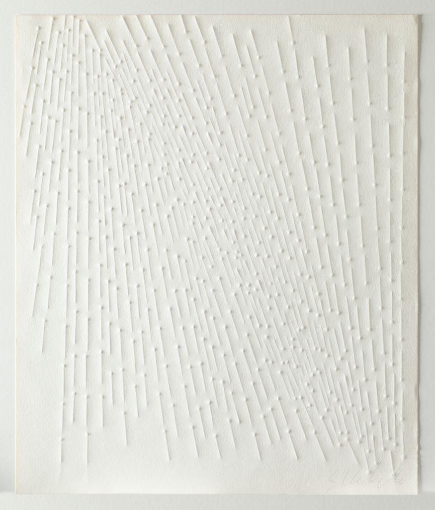 Günther Uecker, Ohne Titel, Blatt aus der Mappe 'Zero', 1966 VG Bildkunst Bonn, 2020