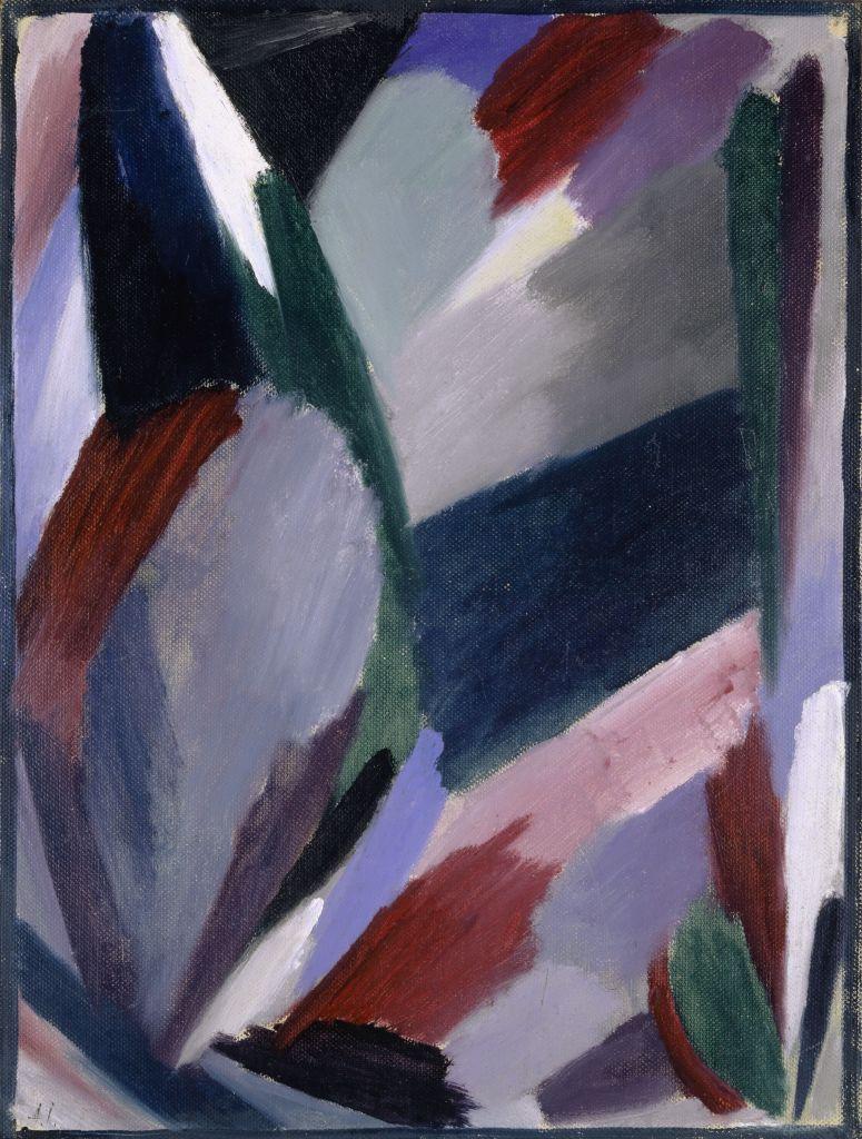 Alexej von Jawlensky, Variation: Severe Winter, 1916 Oil on cardboard, 36 x 27 cm Kunstmuseum Basel Photo: Kunstmuseum Basel, Martin P. Bühler