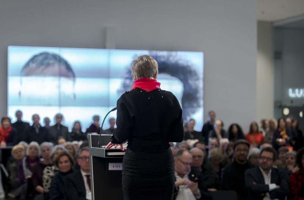 Laurens_Eröffnung_Foto: Kunsthalle Mannheim/ Dietrich Bechtel