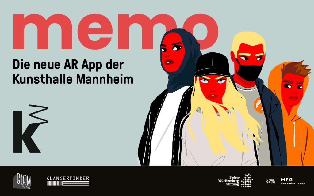 © memo AR APP Kunsthalle Mannheim