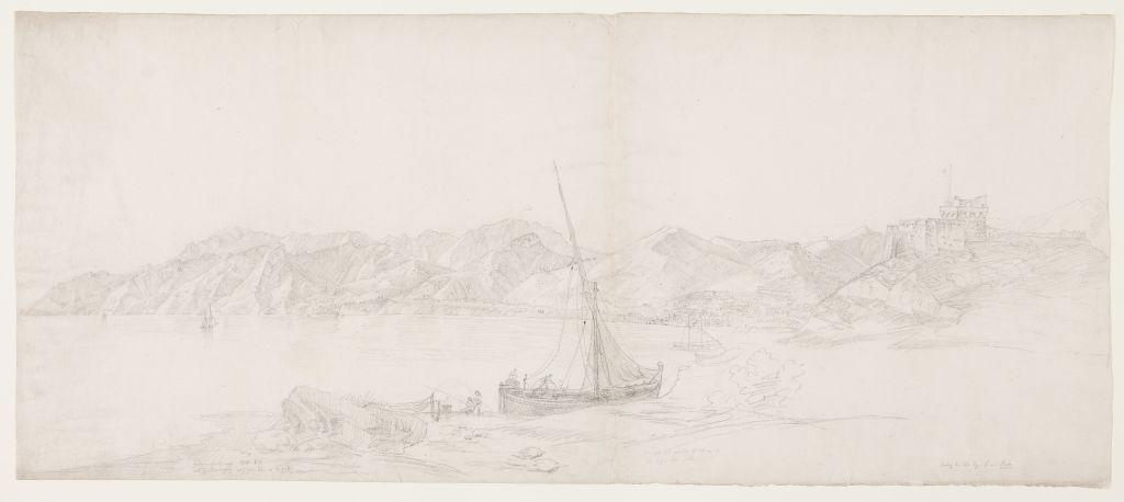 Johann Martin von Rohden (1778 - 1868), Sonntag 6. Tg. S. mit Pesto, um 1832 / 1833