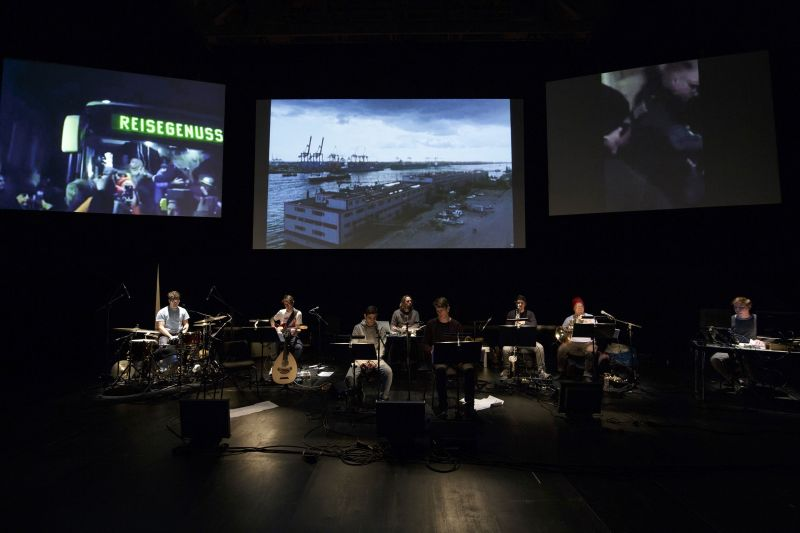 "Filmkonzert ""Survival Strategies for Cold Countries"", Foto: shortfilmlivemusic"