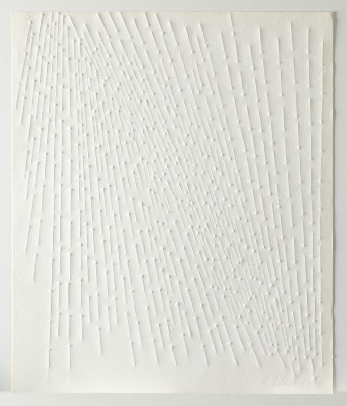 """Günther Uecker, Ohne Titel, Blatt aus der Mappe """"Zero"""", 1966 © VG Bildkunst Bonn, 2020"""