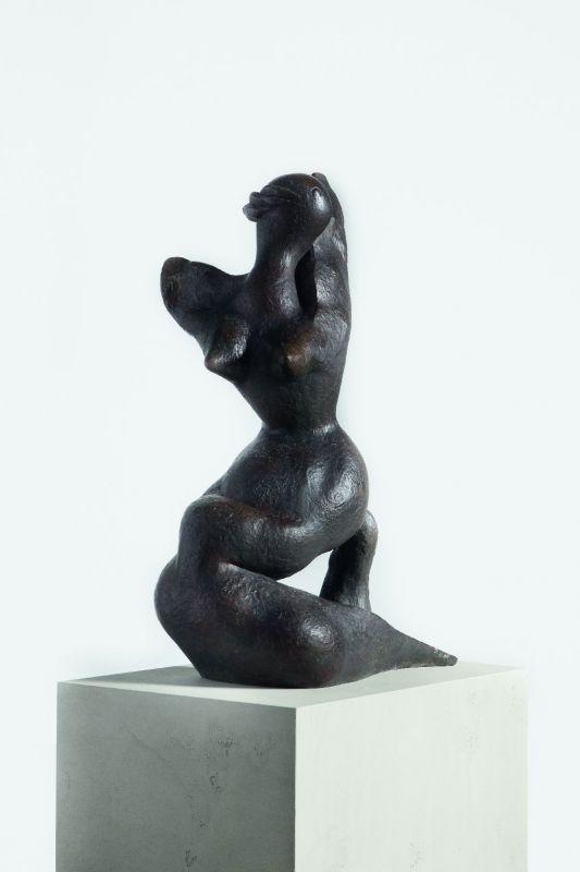 Henri Laurens: La Sirène (Siren), 1945, bronze © VG Bild-Kunst, Bonn, photo: Kunsthalle Mannheim