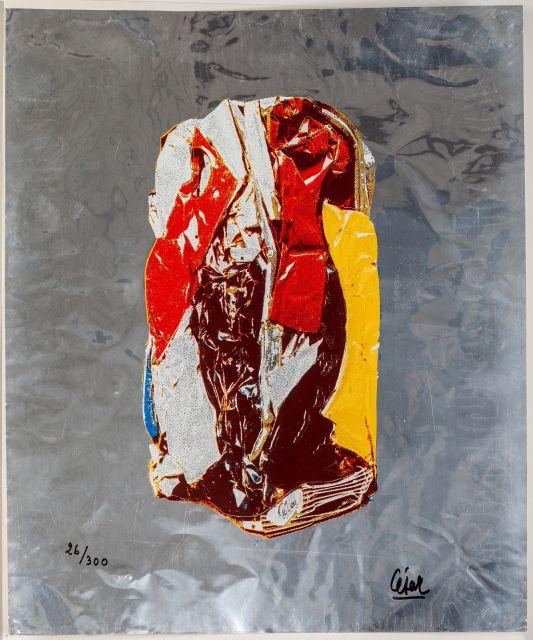 César, Ohne Titel, 1970, © VG Bildkunst Bonn, 2020