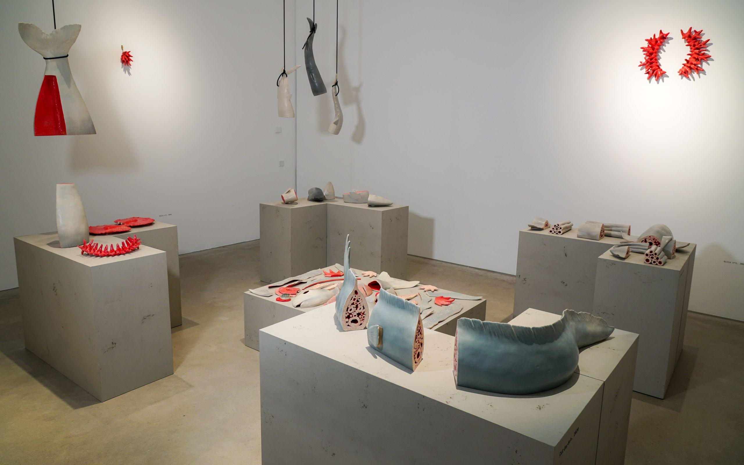 Elsa Guillaume, Installationsansichten, Foto: Kunsthalle Mannheim © Elsa Guillaume, VG Bild-Kunst 2020