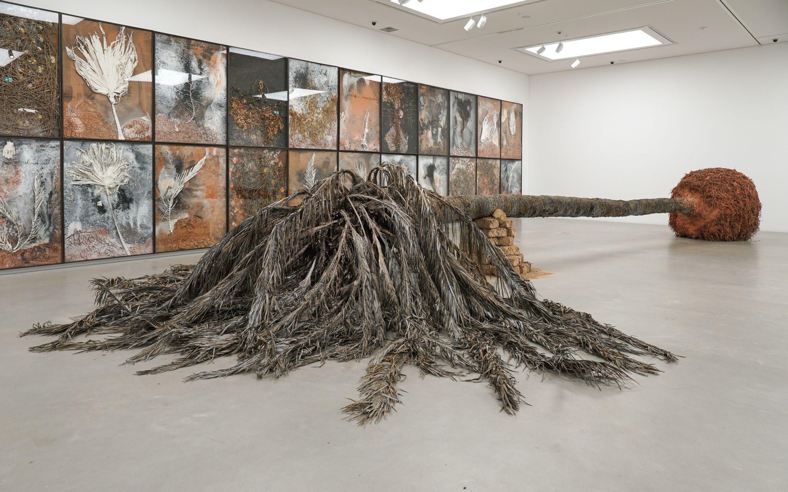 Palmsonntag © Anselm Kiefer, Sammlung Grothe, Foto: Heiko Daniels / Kunsthalle Mannheim