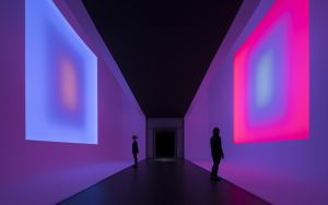 © James Turrell, Sammlung Kunsthalle Mannheim, Foto: Kunsthalle Mannheim/ Florian Holzherr